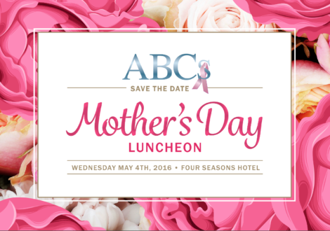 Mother's Day Luncheon 2016: Save the date!