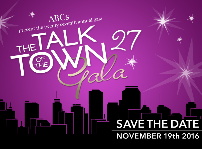 ABC's the Talk of the Town Gala 27 - Save the Date
